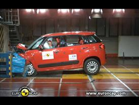 Fiat 500L  Crash Test 2012