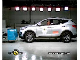 Hyundai Santa Fe Crash Test 2012