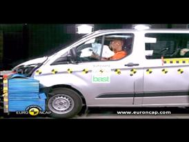 Ford Transit Custom Crash Test 2012
