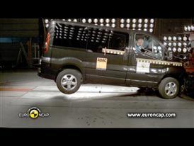 Renault Trafic Crash Test 2012