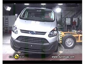 Ford Transit Custom Crash Test 2012