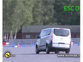 Ford Transit Custom -  ESC test 2012