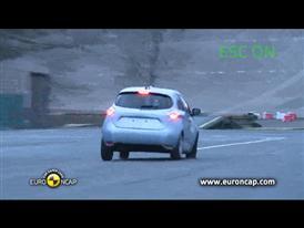 Renault ZOE - ESC Test 2013