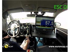 Toyota Corolla - ESC Test 2013