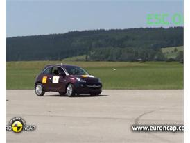 Opel/Vauxhall Adam - ESC Test 2013