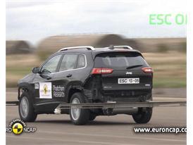 Jeep Cherokee  - ESC Test 2013