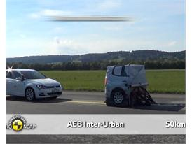 VW Golf - AEB Tests 2013