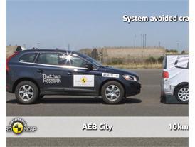 Volvo XC60  - AEB Tests 2013