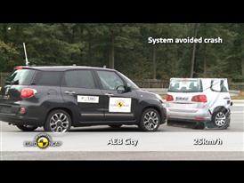 Fiat 500L - AEB Tests 2013