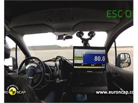 Ford Tourneo Connect  - ESC Test 2013