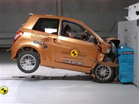 Ligier IXO JS LINE 4 places - Crash Tests 2014