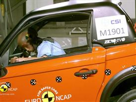Tazzari ZERO - Crash Tests 2014 - with captions