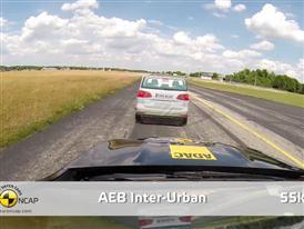 Mercedes-Benz GLA-Class - AEB Test 2014