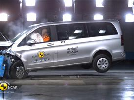 Mercedes-Benz V-Class - Crash Tests 2014 - with captions