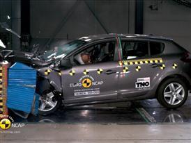 Renault Megane Hatch Reassessment - Crash Tests 2014