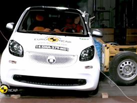 smart fortwo - Crash Tests 2014