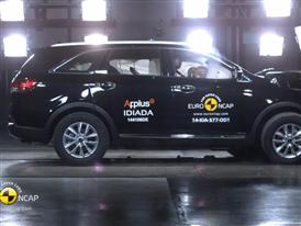 Kia Sorento - Crash Tests 2014