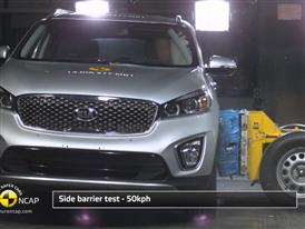 Kia Sorento - Crash Tests 2014 - with captions