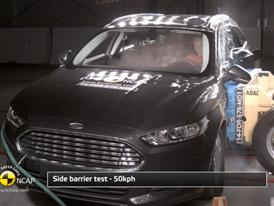 Ford Mondeo - Crash Tests 2014 - with captions