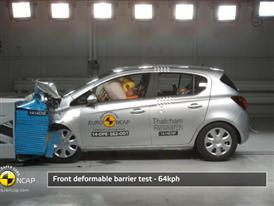 Opel/Vauxhall Corsa - Crash Tests 2014 - with captions