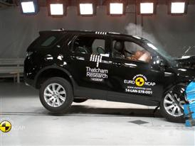 Land Rover Discovery Sport - Crash Tests 2014