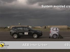 Land Rover Discovery Sport  - AEB Test 2014