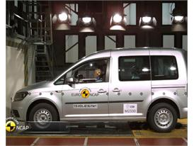 VW Caddy - Crash Tests 2015