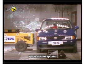 Crash test video VW polo 1997