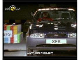 Crash test video Ford Fiesta 1997