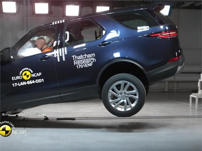 Land Rover Discovery - Euro NCAP Results 2017