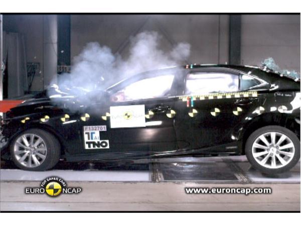 Lexus IS 300h  - Crash Tests 2013