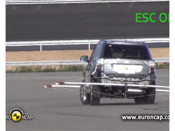 Mitsubishi Outlander PHEV - Crash Tests 2013