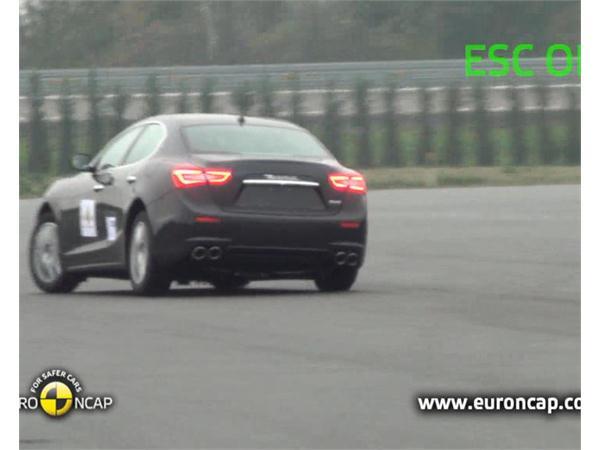 Maserati Ghibli  - ESC Test 2013