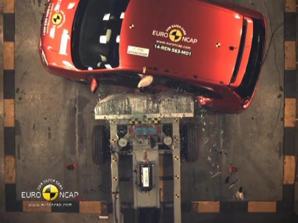 Renault Twingo - Crash Tests 2014 - with captions
