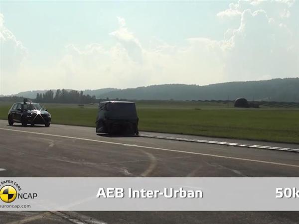Skoda Fabia  - AEB Test 2014