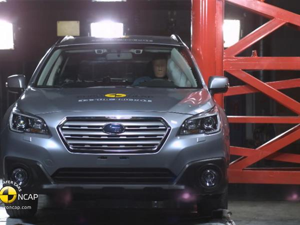 Subaru Outback - Crash Tests 2014