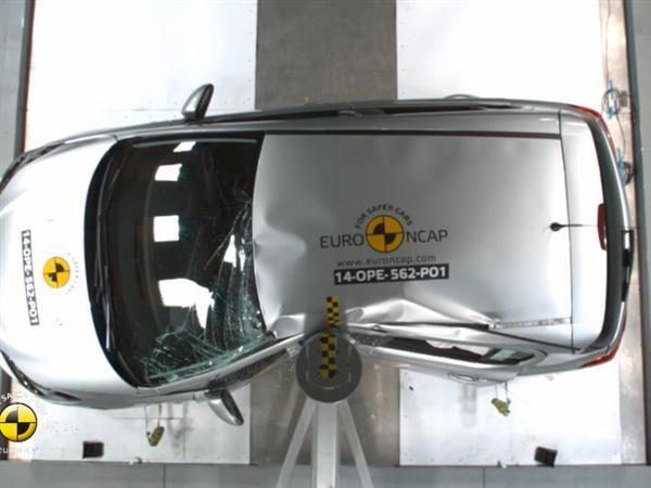 Opel/Vauxhall Corsa - Crash Tests 2014