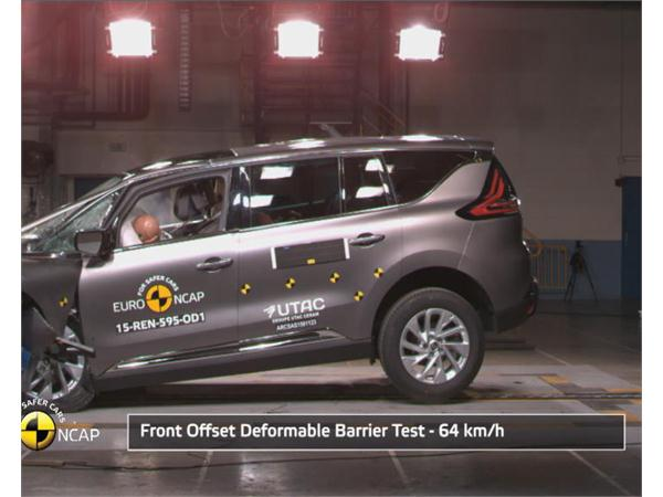 Renault Espace - Crash Tests 2015