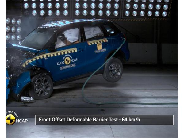 Suzuki Vitara - Crash Tests 2015