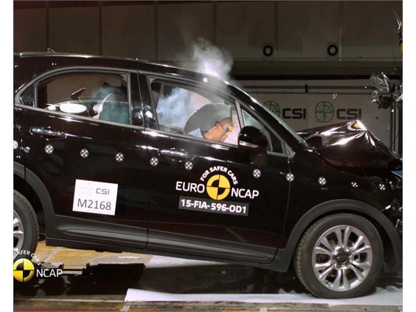 FIAT 500X - Crash Tests 2015