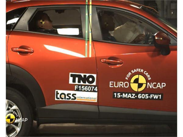Mazda CX-3 - Crash Tests 2015