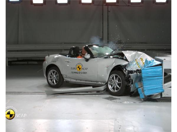 Mazda MX-5 - Crash Tests 2015