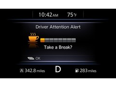 "Nissan's ""Driver Attention Alert"" Helps Detect Erratic Driving Caused by Drowsiness and Inattention"