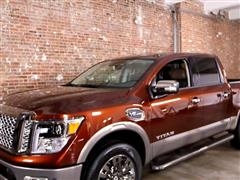 Nissan shows all-new 2017 TITAN pickup at 2016 New York International Auto Show