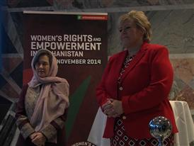 B-roll from Oslo Symposium on Advancing Women's Rights and Empowerment in Afghanistan