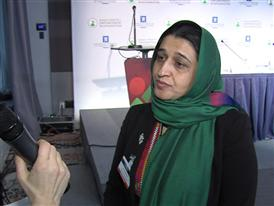 Comment from Director of Afghan Women's Network Ms. Hasina Safi