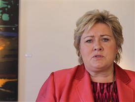 Prime Minister Erna Solberg