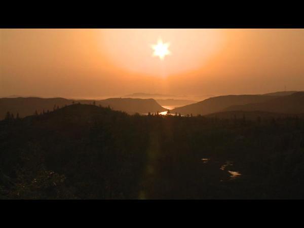 Kirkenes nature and midnight sun