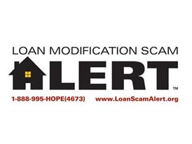 Loan Modification Scam Alert