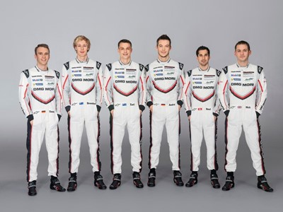 Porsche presents the 919 Hybrid and the team in Monza